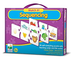 The Learning Journey Match It Sequencing, Multi Color