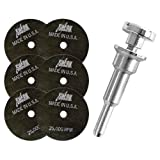 Shark Welding 26-6M Shark 3-Inch by 1/32-Inch by 3/8-Inch Cut-Off Wheel with Mandrel, 6-Pack.