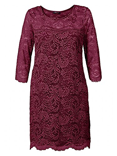 sheego by Anna Scholz Donne Vestito da cocktail taglie comode bordeaux 48