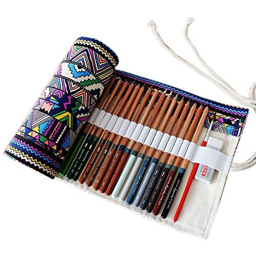 dremisland-canvas-pencil-wrap-drawing-pencil-storage-bagtravel-drawing-pencil-roll-for-artist-36-48-