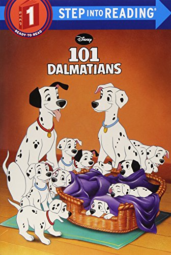 101 Dalmatians (Disney 101 Dalmatians) (Step Into Reading. Step 1)