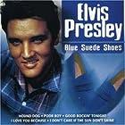Blue suede shoes © Amazon