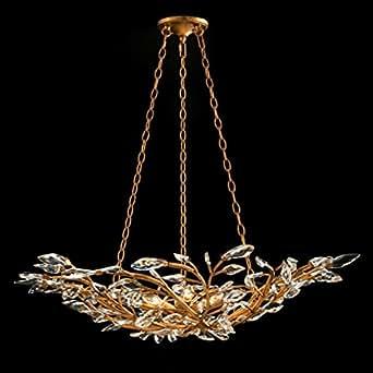 john richard 8 light diaphanous chandelier ajc 8829. Black Bedroom Furniture Sets. Home Design Ideas