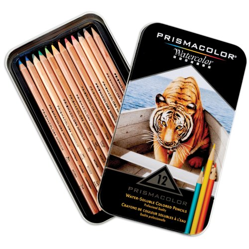 Sanford Prismacolor Watercolor Pencil Set, 12-Pack