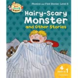Oxford Reading Tree Read With Biff, Chip, and Kipper: Hairy-scary Monster & Other Stories: Level 6 Phonics and First Stories (Read With Biff Chip & Kipper)by Roderick Hunt
