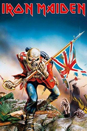 1art1 49533 Poster Iron Maiden - The Trooper 91 x 61 cm