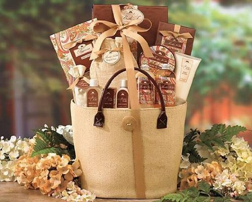 Send Fresh Cut Flowers - A Day OffMixed Gift Basket