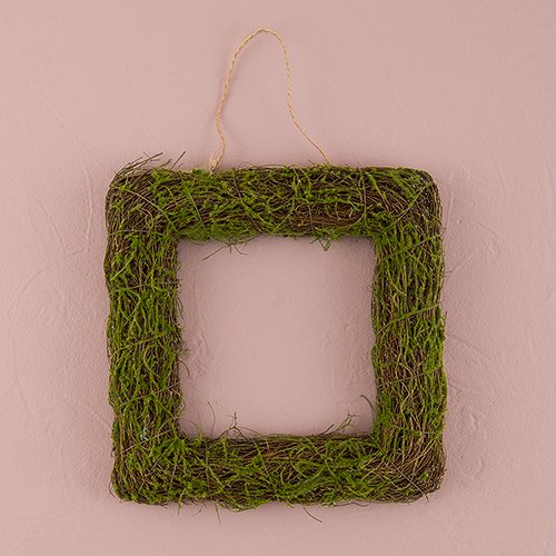 Faux-Moss-and-Wicker-Square-Frame-Medium