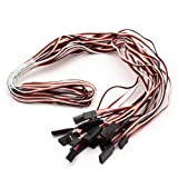 NEEWER® 10 Pcs Servo extension cord cable 1000mm 100cm For Futaba