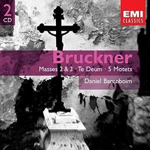 Bruckner : Messes n° 2 et 3, Te Deum, 5 Motets