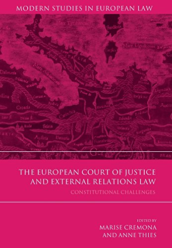 The European Court of Justice and External Relations Law (Modern Studies in European Law)