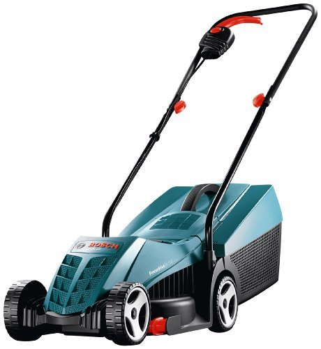 Bosch Rotak 32 Electric Rotary Lawnmower (32 cm Cutting Width)