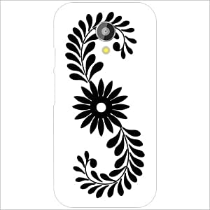 Motorola Moto G (2nd Gen) - Lazer Print Floral Designer Cases