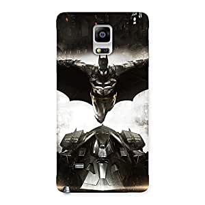 Knight Car Back Case Cover for Galaxy Note 4