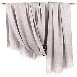 ZORJAR 100% Worsted Wool Large Soft Winter Scarfi 53\'\' x 102\'\'