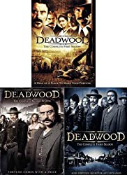Deadwood - The Complete First Three Seasons (3 pack - Boxset)