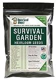 11,000 Non GMO Heirloom Vegetable Seeds Survival Garden 30...