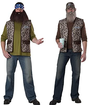 Men's Duck Dynasty Adult Willie Costume Multicoloured One Size Fits Most