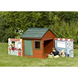 Plum® Role Play Wooden Outdoor Play House