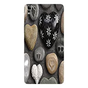 Back cover for Lenovo A7000 Pebble Love