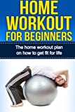 Home Workout For Beginners: The Home Workout Plan On How To Get Fit For Life (Home Workout For Beginners, Home Workout Plan, Exercise And Fitness for beginners) (Volume 1)