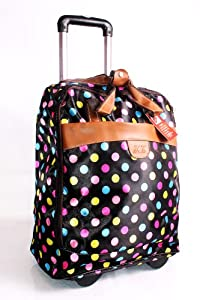 Happy Spots Backpack And Wheeled Trolley Bagcabin Baggageshopping Trolleycollege Bag