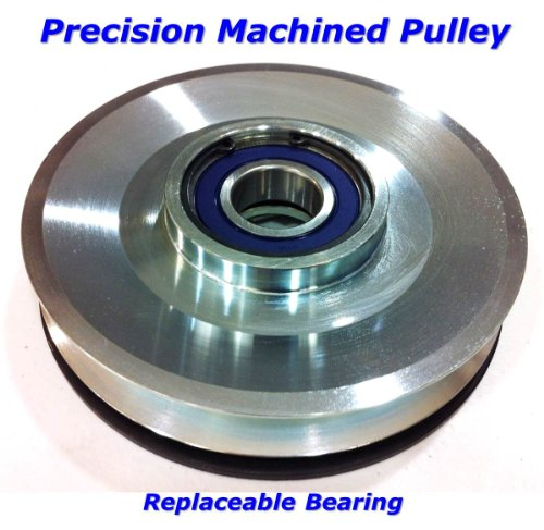 Replaces John Deere PTO Clutch 145 155c 190c L120 L130 L2048 L2548 LA130 GY20878 - Includes Wire Repair Kit -Free Upgraded Bearings & Machined Pulley image