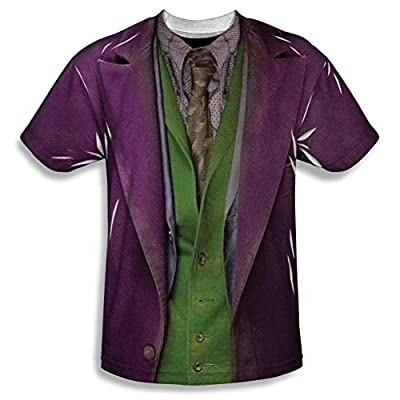The Dark Knight Joker Costume All Over Print Front T-Shirt