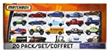 Matchbox On A Mission: 20-Pack Car Set (Styles May Vary)