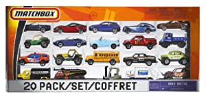 Matchbox 20 Car Set  (Styles May Vary)