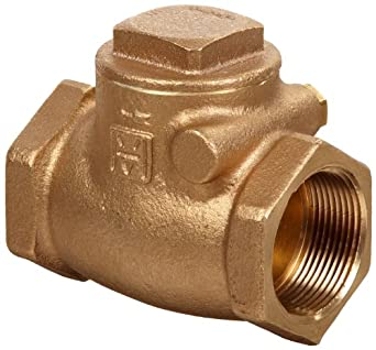 Milwaukee Valve 515 Series Bronze Swing Check Valve, Class 150, NPT Female