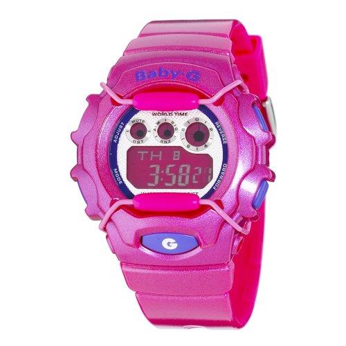 Casio Women's BG1006SA-4ACR Baby-G Dark Pink Digital Sport Watch