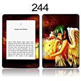 TaylorHe Vinyl Skin Decal for Amazon Kindle Paperwhite Ultra-slim protection for Kindle MADE IN BRITAIN FREE UK DELIVERY Design of Manga Angel