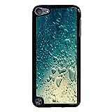 Refreshing Black Hardshell Case for iPod Touch 5G (Color: Black)