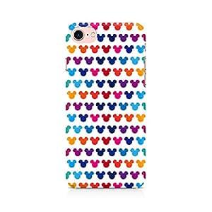 Premium Anti Slip Designer Printed Hard Matte Back Case Cover For Apple iPhone 7