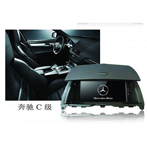 Realmedia Mercedes-Benz C-Class C200 C220 2008 Oem Digital Touch Screen Car Stereo 3D Navigation Gps Dvd Tv Usb Sd Ipod Bluetooth Hands-Free Multimedia Player +++With Realmediashop Germany Warranty+++