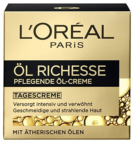 L'Oréal Paris Öl Richesse Pflegende Öl-Creme, 1er Pack (1 x 50 ml) thumbnail