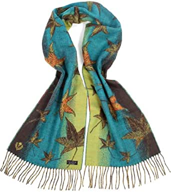 FRAAS Women's Scarf -  Turquoise - Türkis (Petrol 690) - One size
