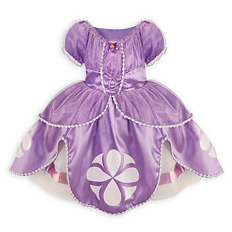 Sofia the First Costume - 2/3T
