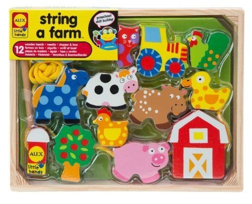 (Ship from USA) ALEX Toys Little Hands String A Farm /ITEM#H3NG UE-EW23D127610