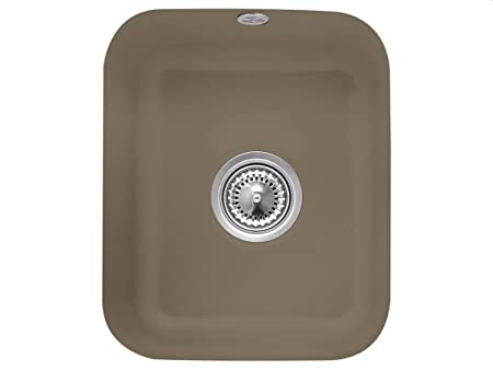 Villeroy & Boch Ceramic Sink Countertop Basin Kitchen Cisterna Timber Brown 45