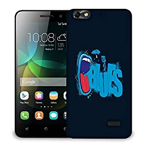 Snoogg Hi Sandwich Designer Protective Back Case Cover For HUAWEI HONOR 4C