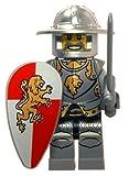 LEGO Kids' 9003400 Kingdoms Plastic Watch with Link Bracelet and Figurine
