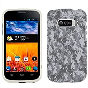 ZTE Imperial Digital Camo Grey Phone Case Cover