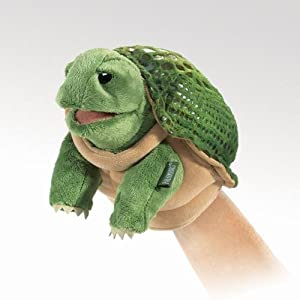 Folkmanis Little Turtle Puppet from Folkmanis