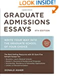 Graduate Admissions Essays, Fourth Ed...