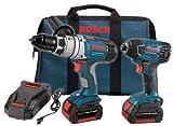 Bosch CLPK22-180 18-Volt 2-Tool Litheon Combo Kit