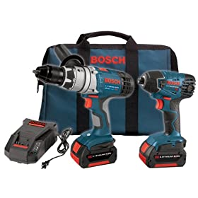 Bosch CLPK22-180 18-Volt 2-Tool Litheon Combo Kit
