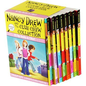 Nancy Drew and the Clue Crew Series Collection Books #1-16
