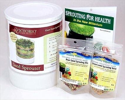 Alfalfa sprouter make